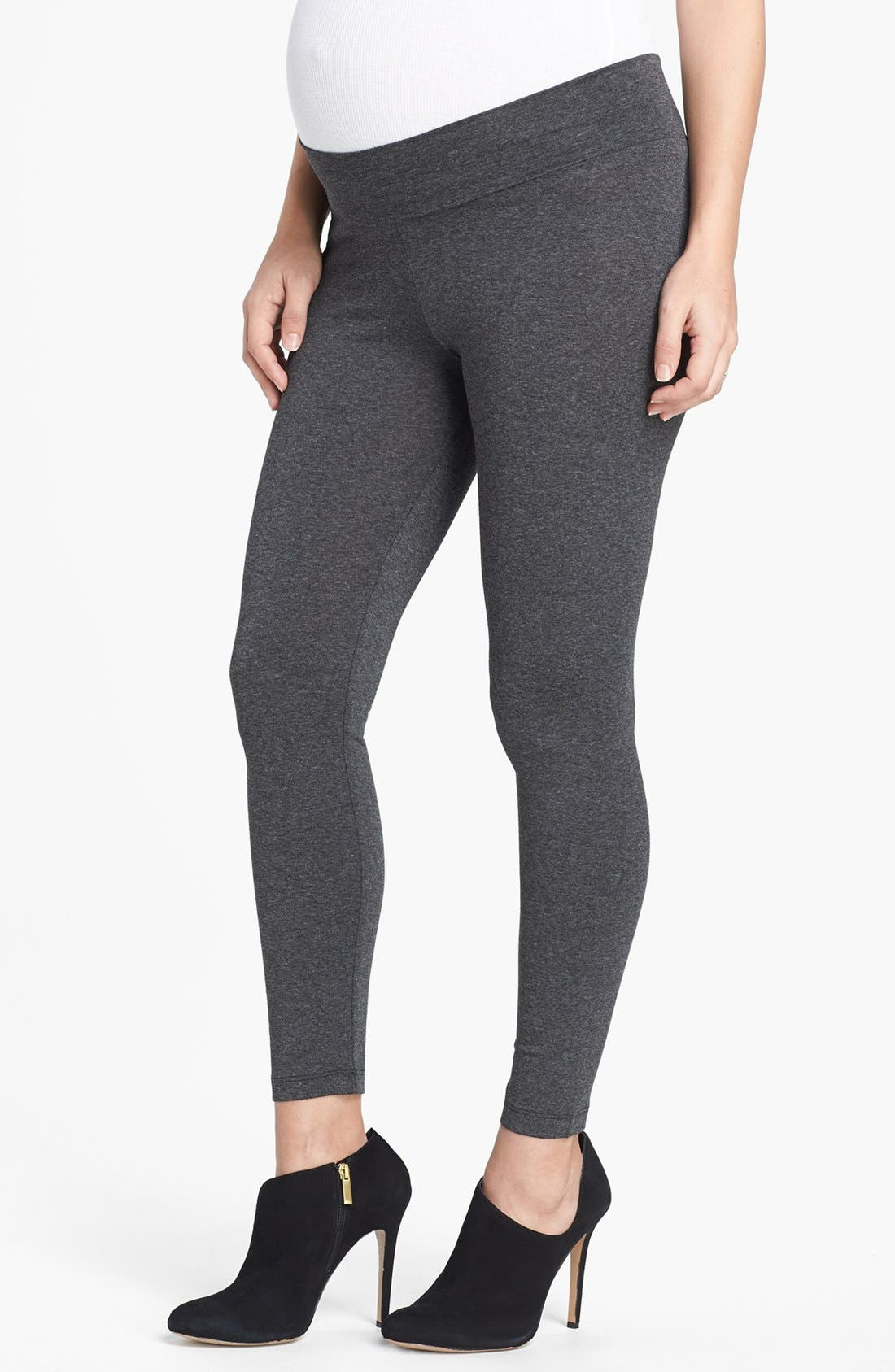 Alternate Image 1 Selected - Olian Maternity Leggings