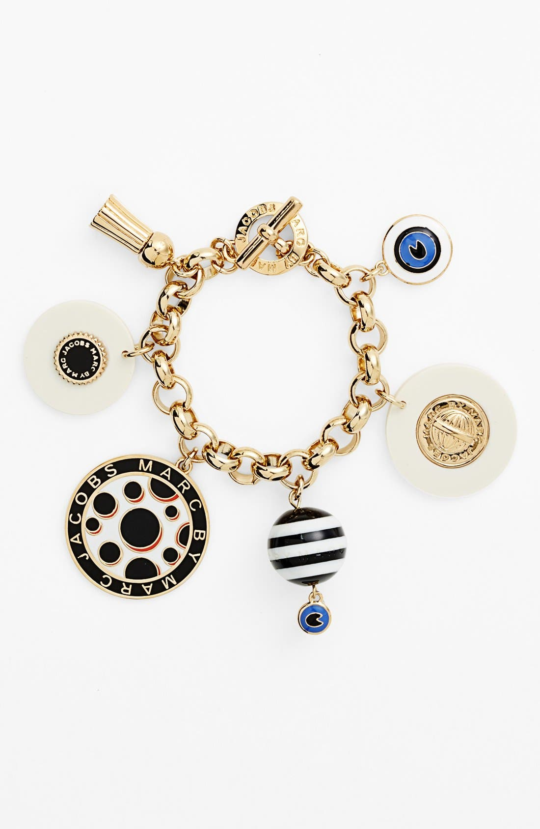 Alternate Image 1 Selected - MARC BY MARC JACOBS 'Dynamite' Charm Toggle Bracelet