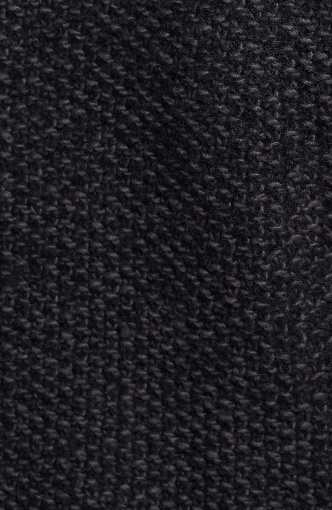 Alternate Image 3  - Trouvé Textured Biker Jacket