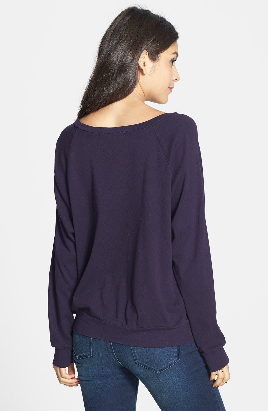 Alternate Image 2  - Project Social T 'Varsity' Sweatshirt (Juniors)