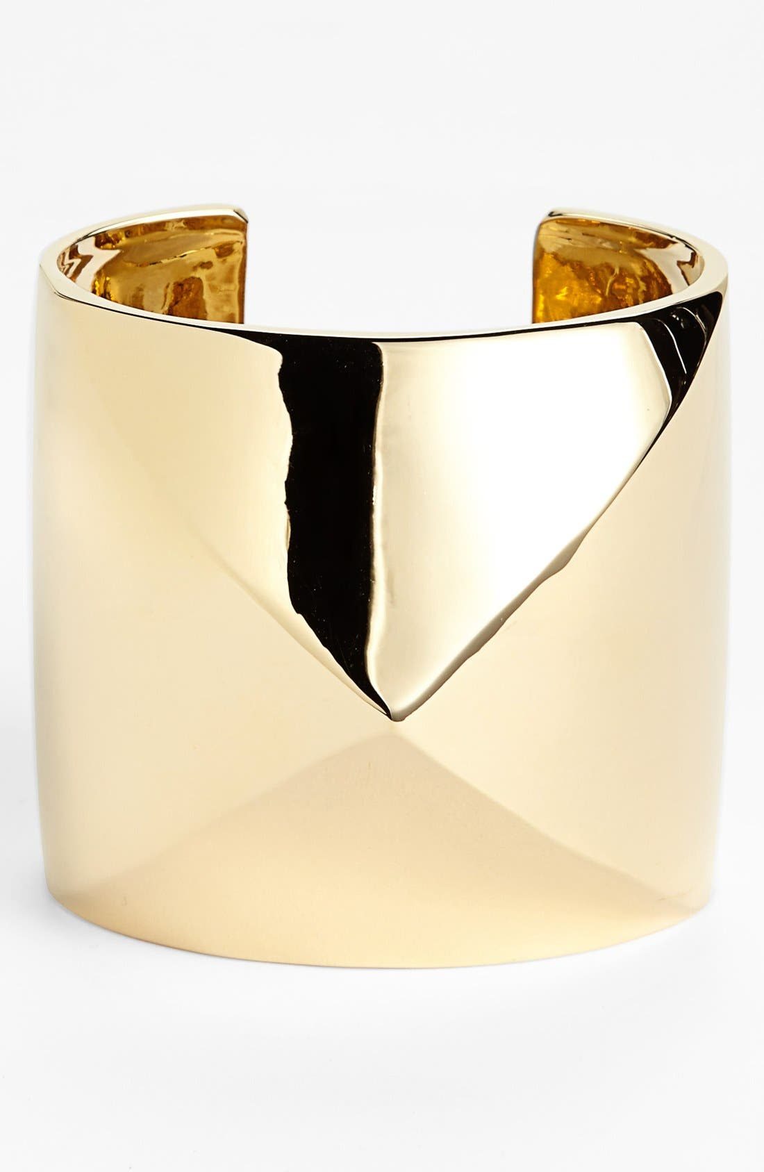 Alternate Image 1 Selected - St. John Collection Wide Pyramid Cuff (Online Only)