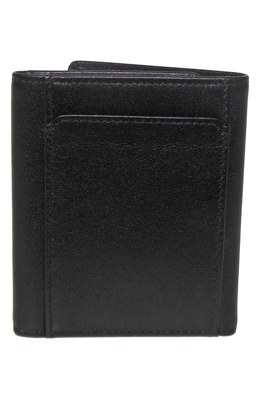 Alternate Image 4  - Boconi 'Grant' RFID Blocker Leather Trifold Wallet