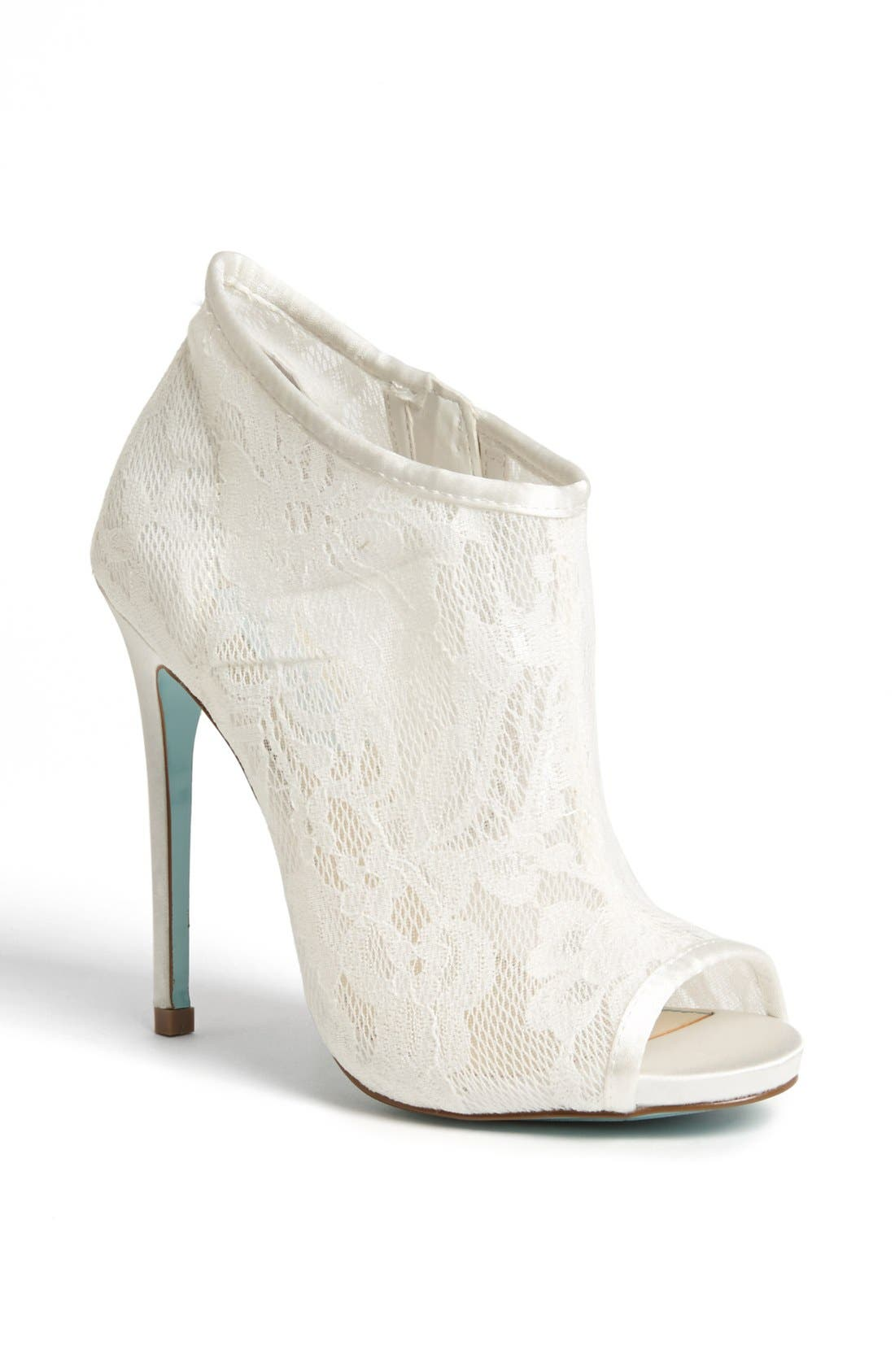 Alternate Image 1 Selected - Blue by Betsey Johnson 'RSVP' Bootie