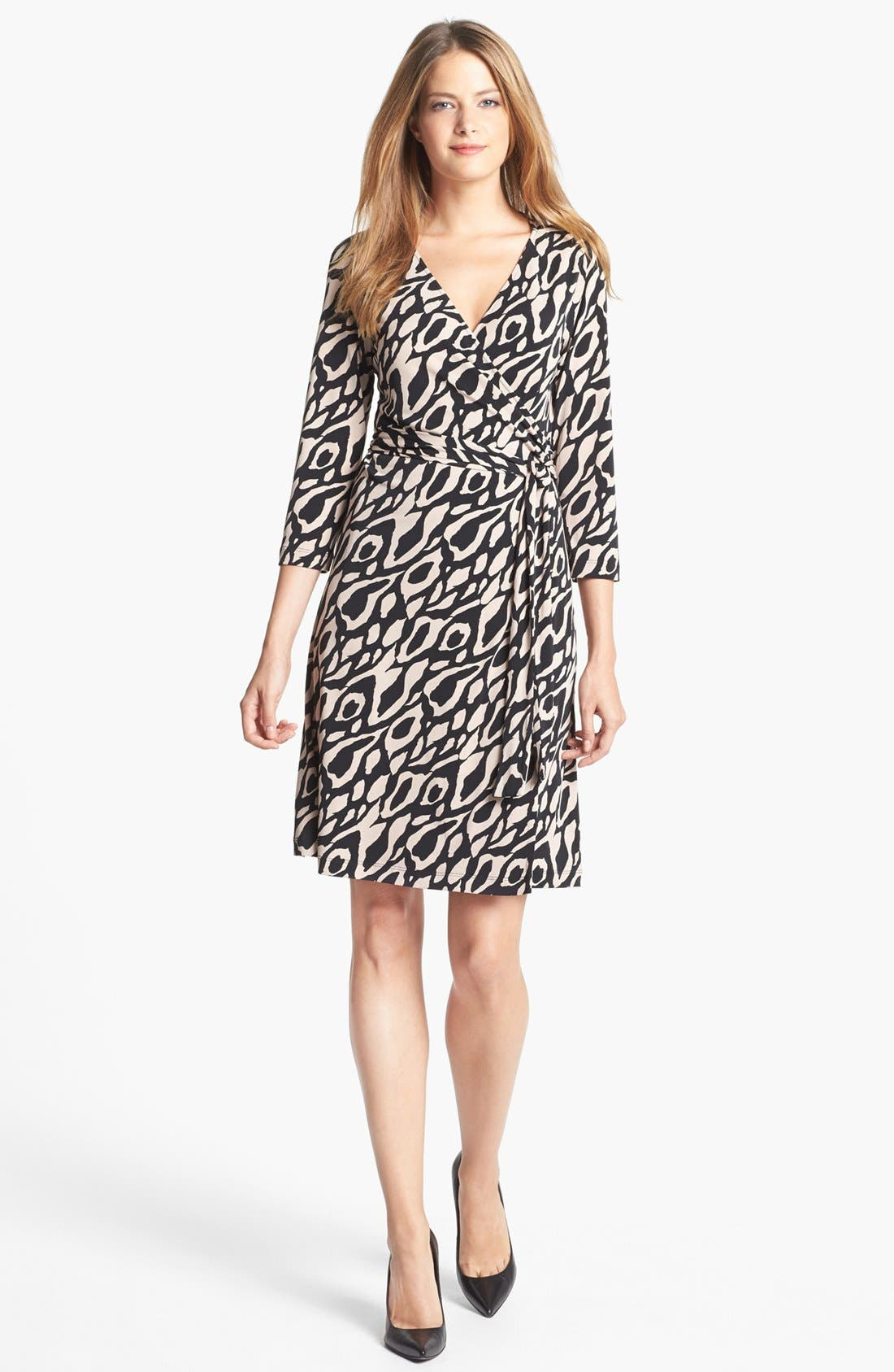 Alternate Image 1 Selected - Tahari Print Jersey Wrap Dress
