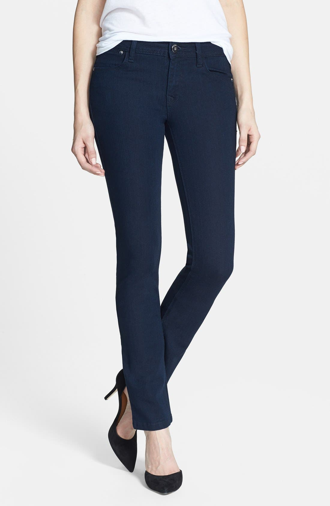 Alternate Image 1 Selected - DL1961 'Coco' Curvy Straight Jeans (Flatiron)