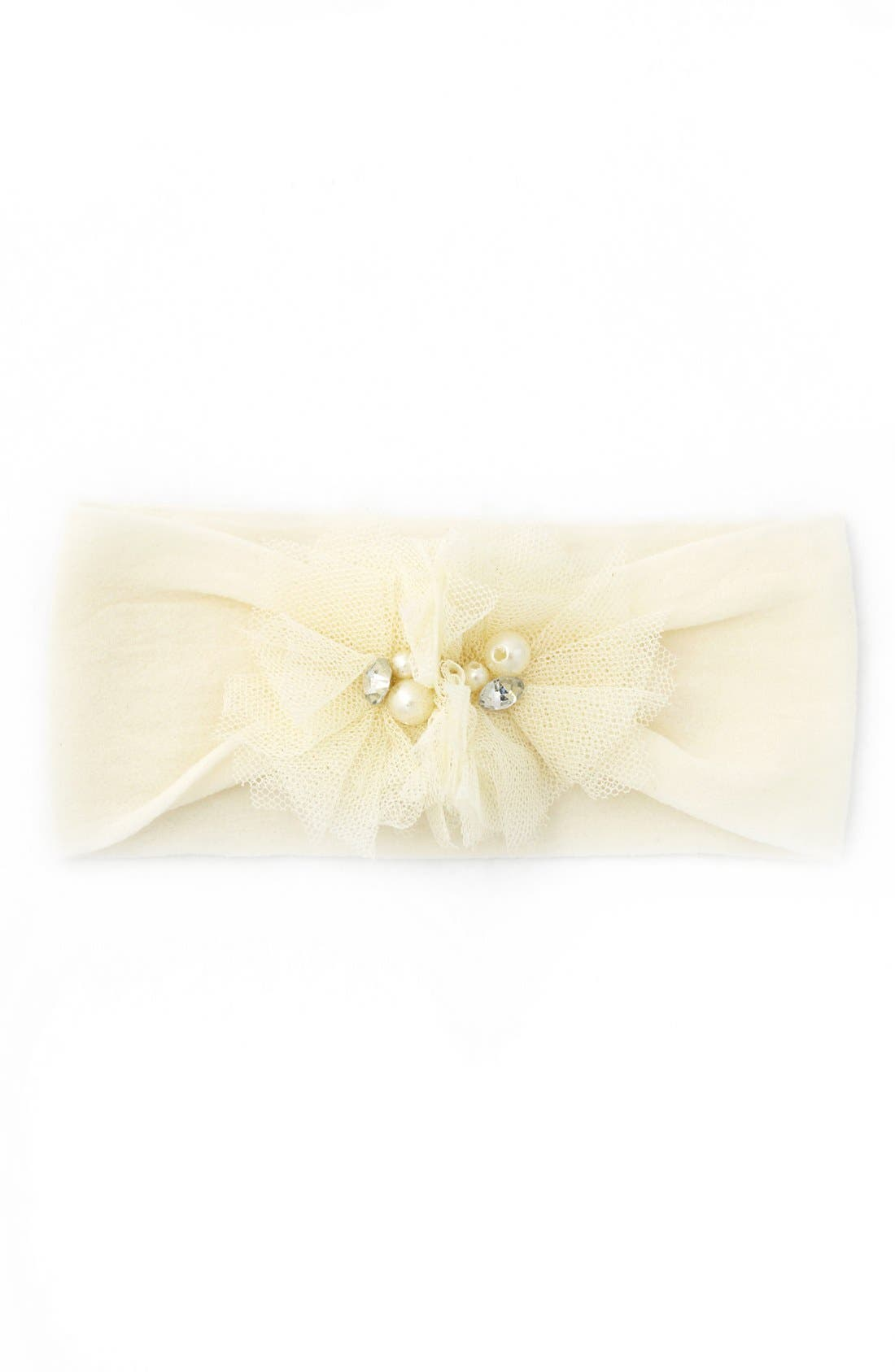 Alternate Image 1 Selected - Baby Bling Headband (Baby Girls)
