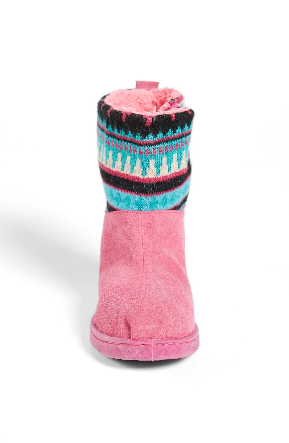 Alternate Image 3  - TOMS 'Nepal - Youth' Knit Shaft Boot (Toddler, Little Kid & Big Kid)