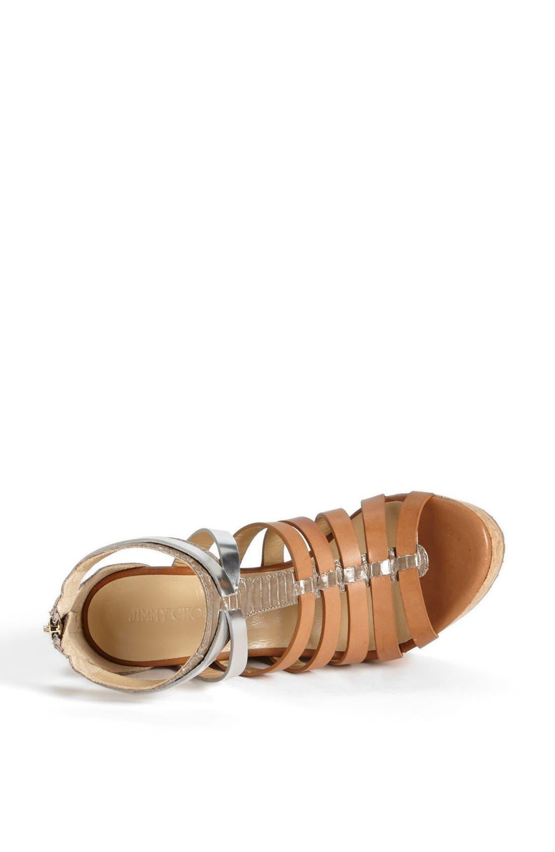 Alternate Image 3  - Jimmy Choo 'Pierce' Wedge Sandal
