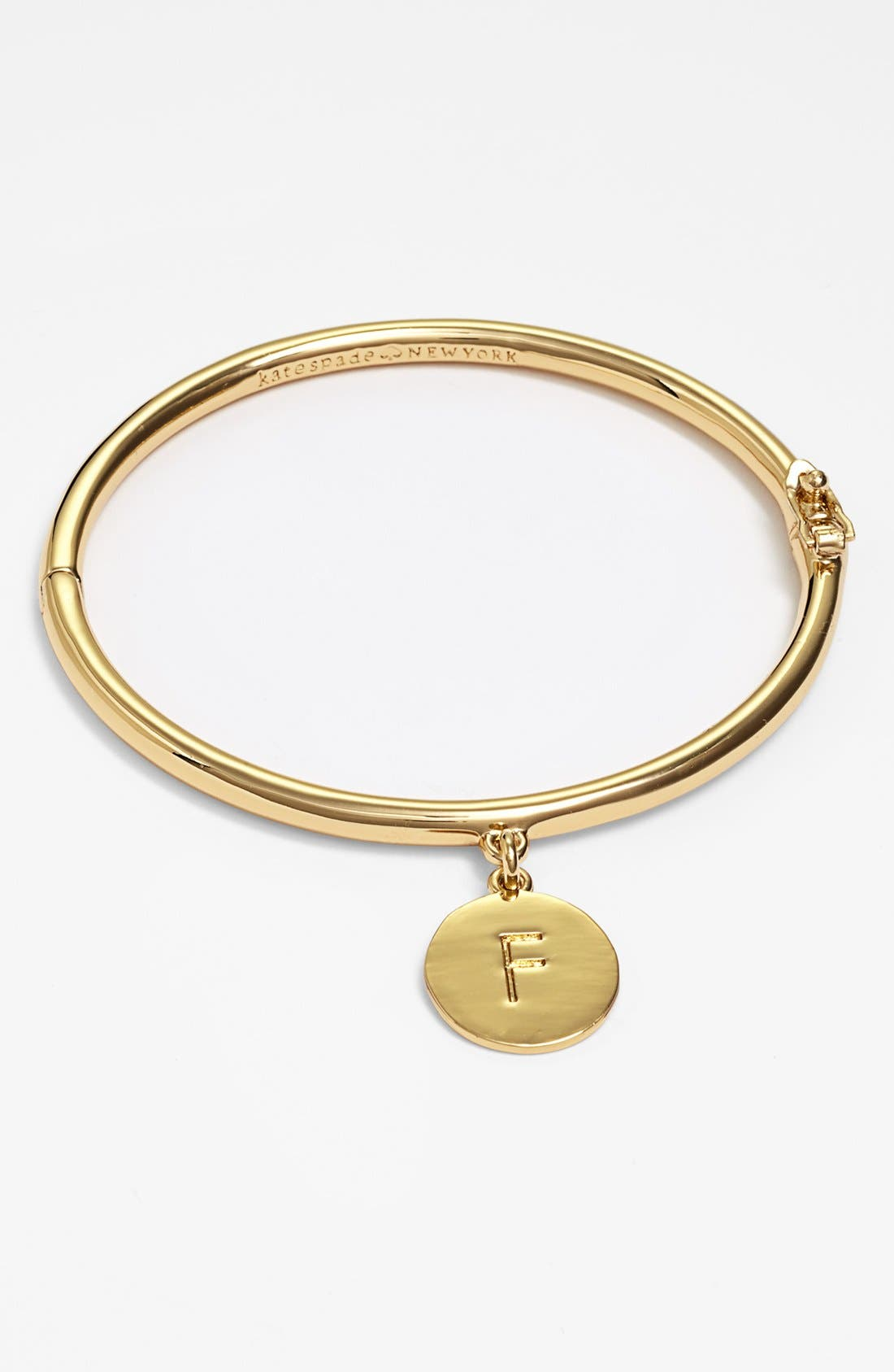 Main Image - kate spade new york 'one in a million' initial charm bracelet