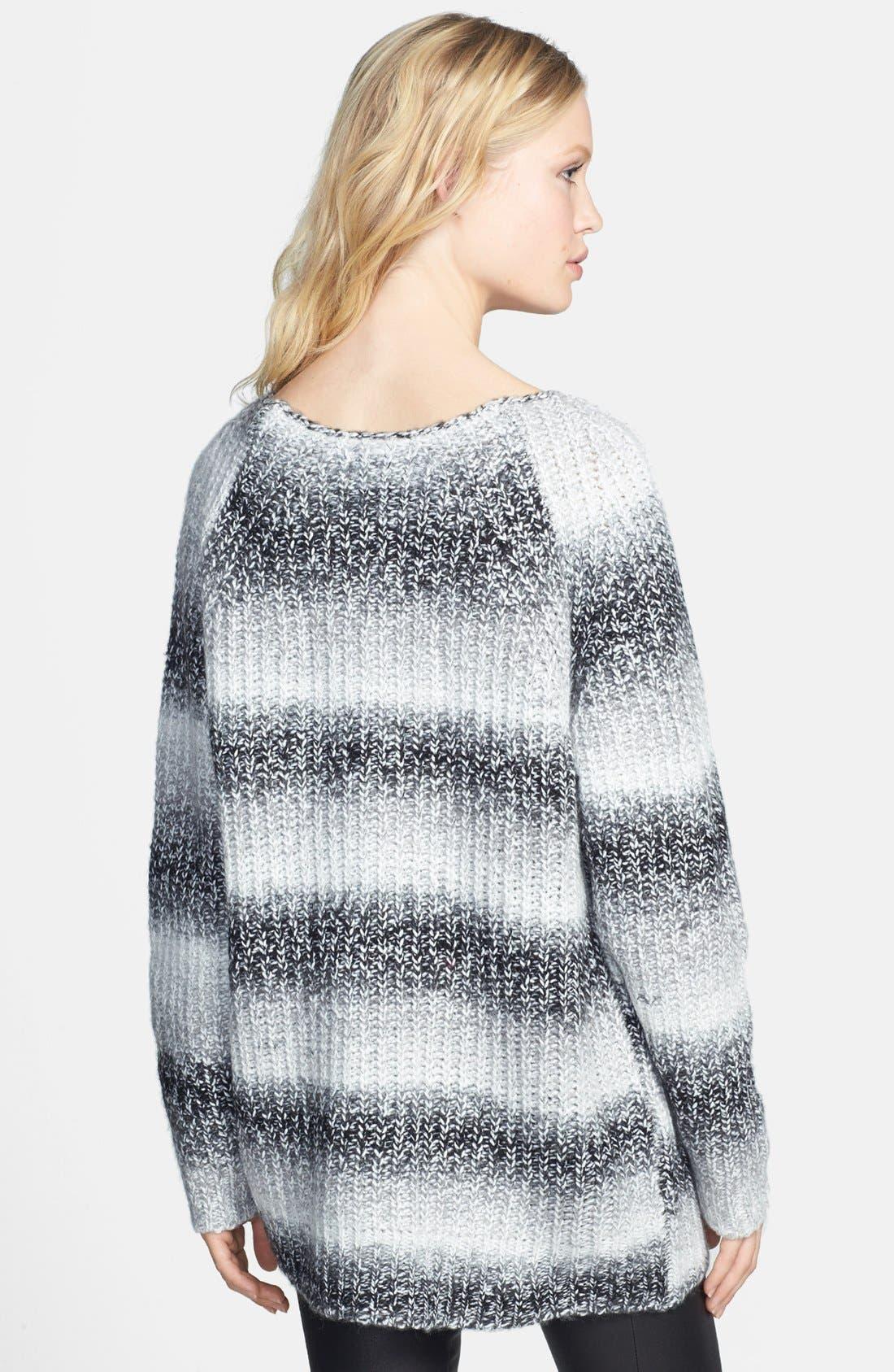 Alternate Image 2  - ELEVENPARIS 'Tinter' Destroyed Marled Sweater
