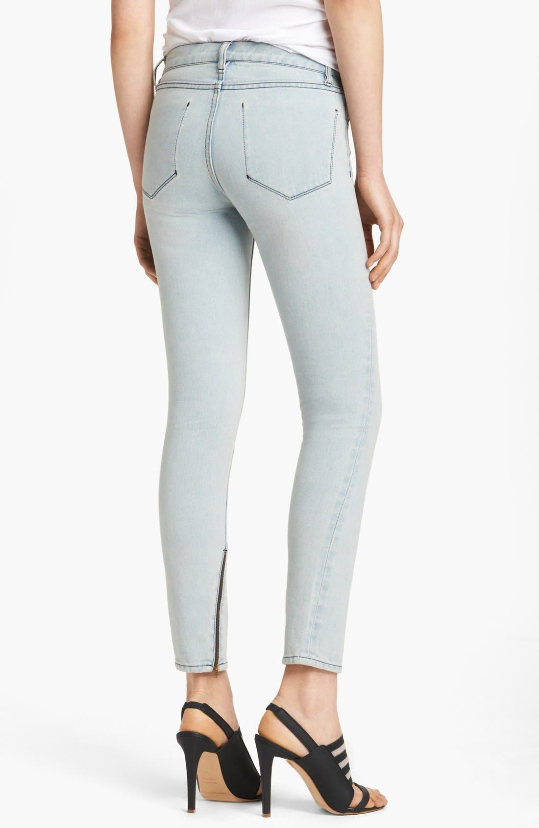 Alternate Image 2  - Christopher Kane Stretch Skinny Jeans