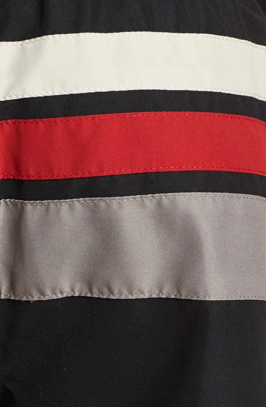 Alternate Image 3  - Quiksilver Stripe Swim Trunks
