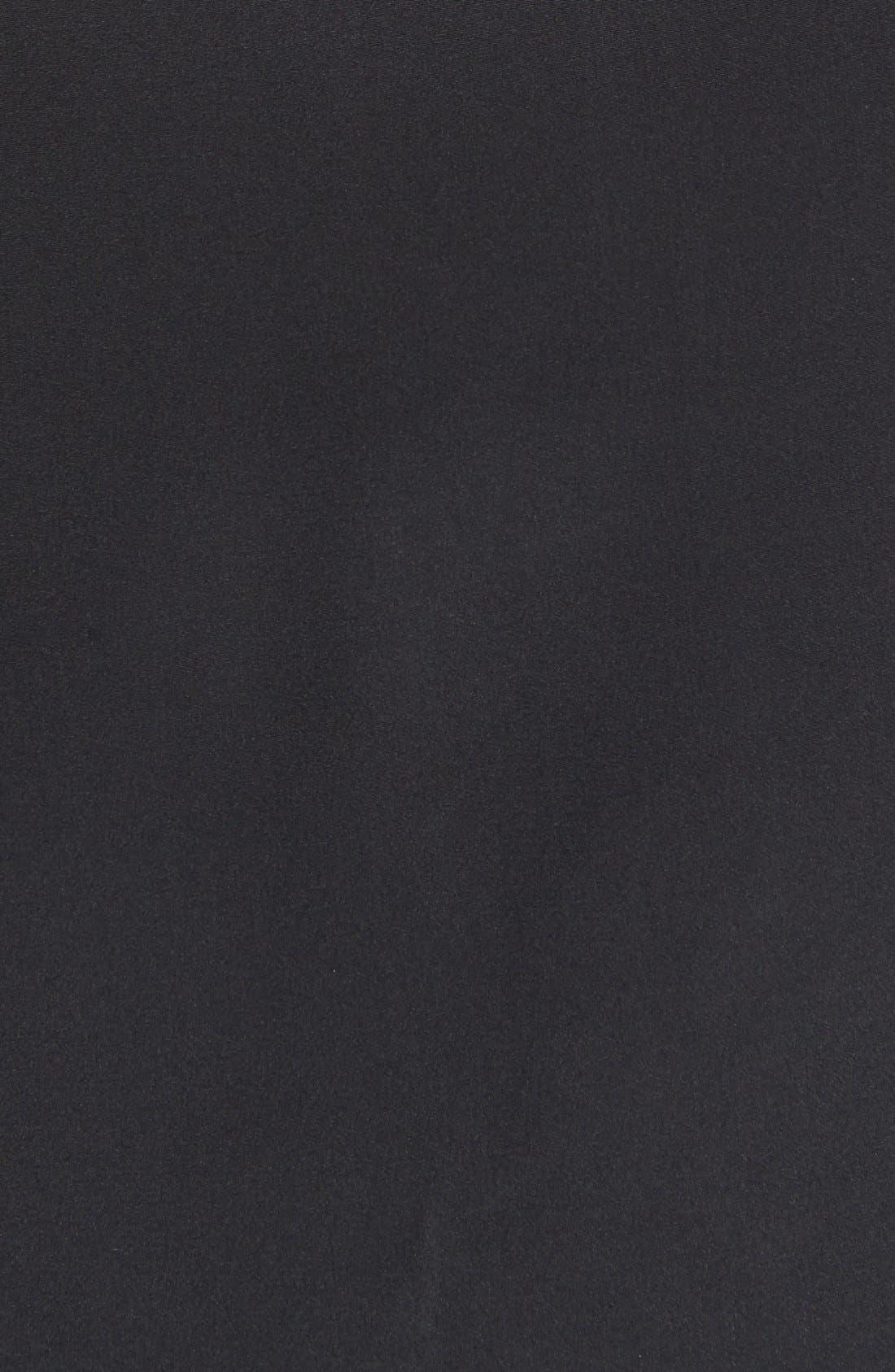 Alternate Image 3  - Madison Marcus Embellished Colorblock A-Line Silk Dress