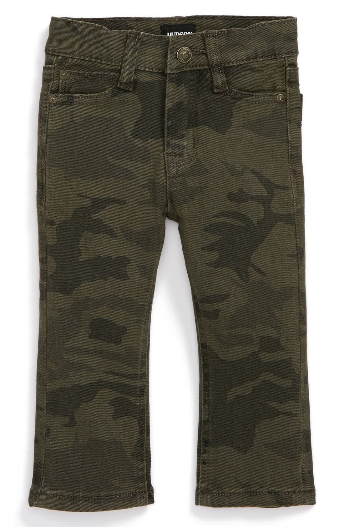 Alternate Image 2  - Hudson Kids Traditional Camo Jeans (Baby Boys)