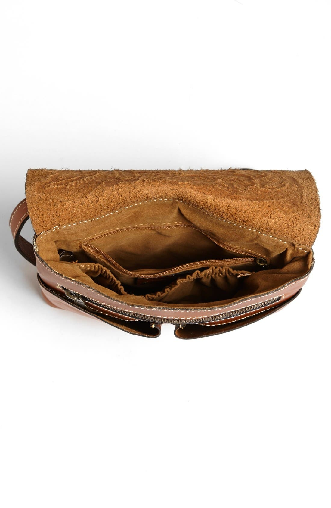 Alternate Image 4  - Patricia Nash 'Granada' Embossed Leather Crossbody Bag