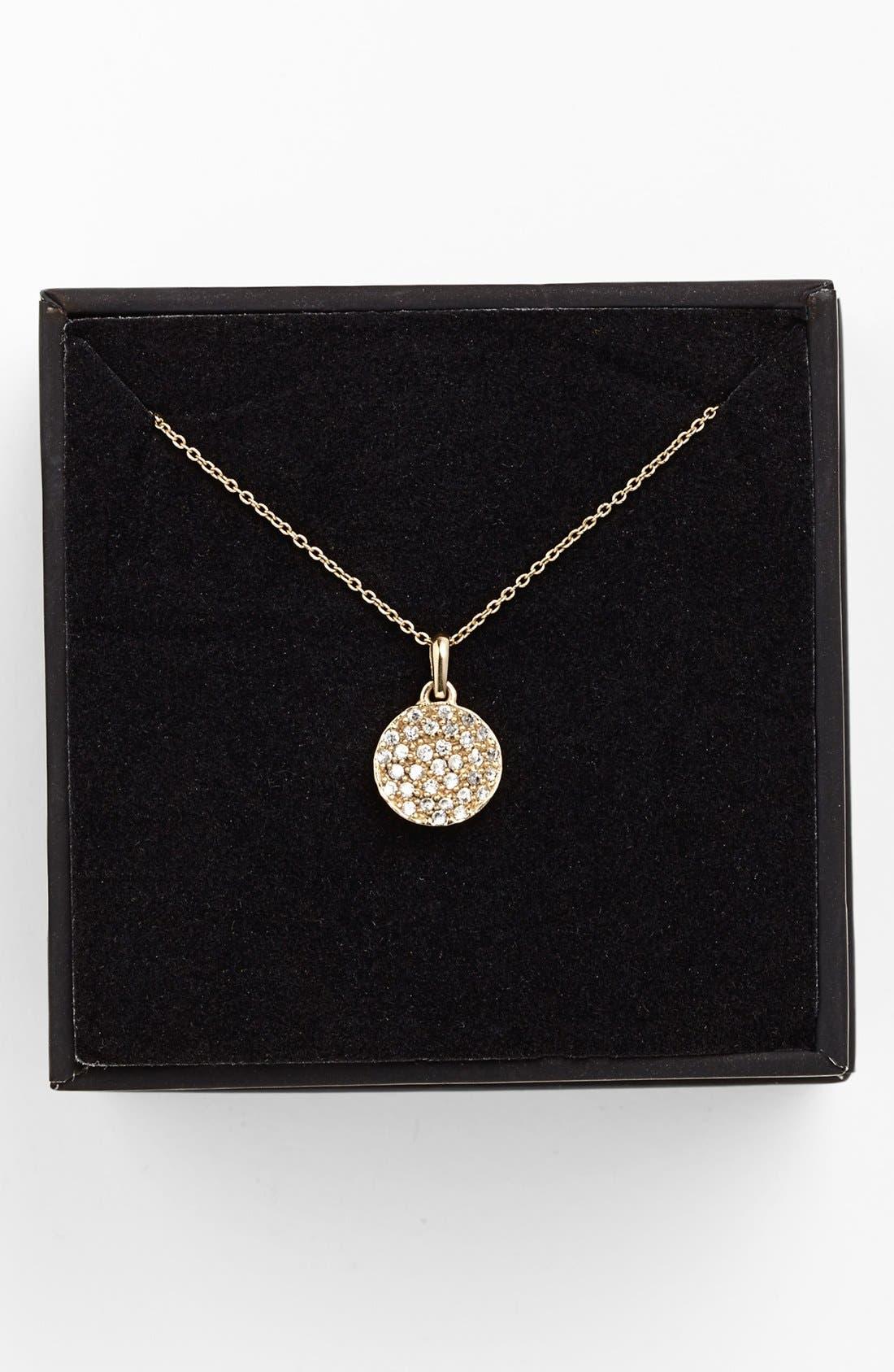 Alternate Image 2  - Melinda Maria 'Mini Nicole' Pendant Necklace