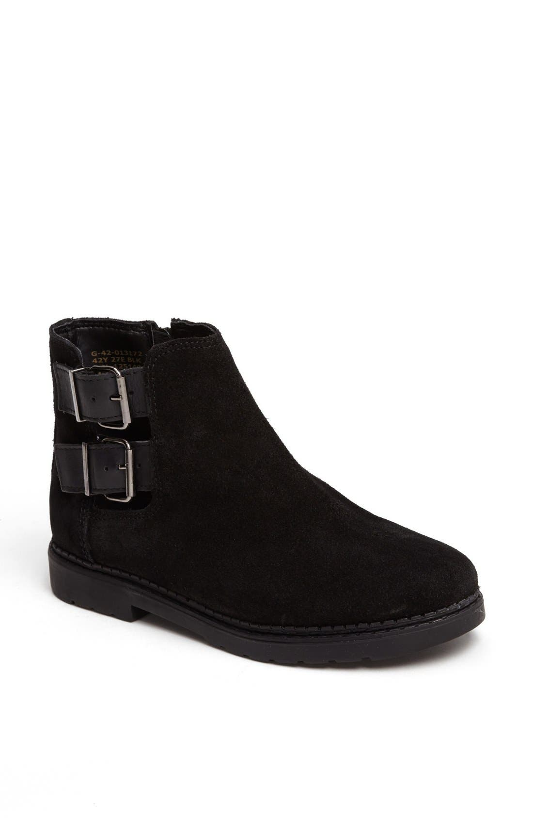 Main Image - Topshop 'Majestic' Cutout Suede Boots