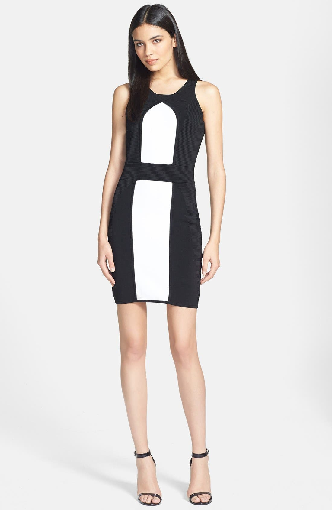 Alternate Image 1 Selected - Milly Stretch Body-Con Dress