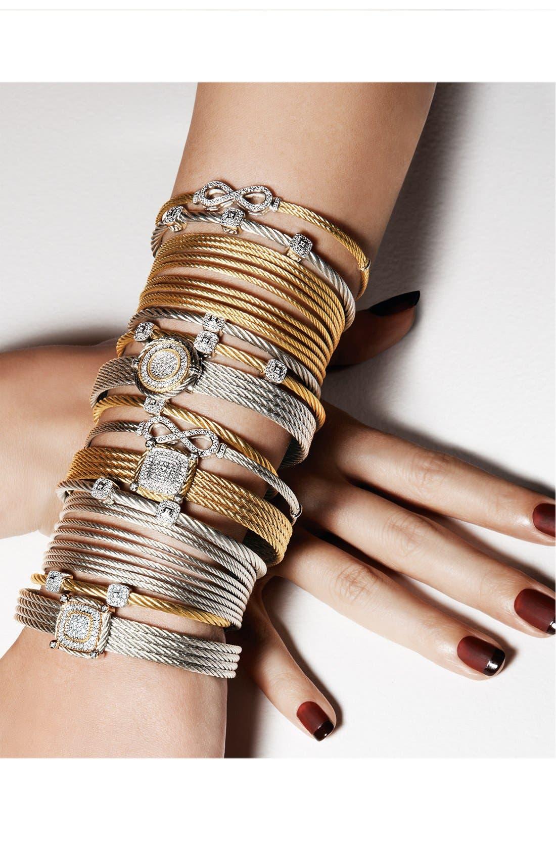 Alternate Image 3  - ALOR® Infinity Symbol Station Bracelet