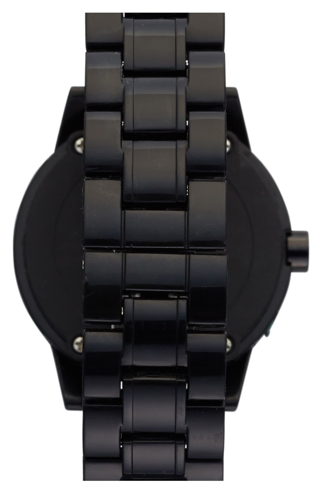 Alternate Image 2  - SPROUT™ Watches Crystal Bezel Bracelet Watch, 45mm