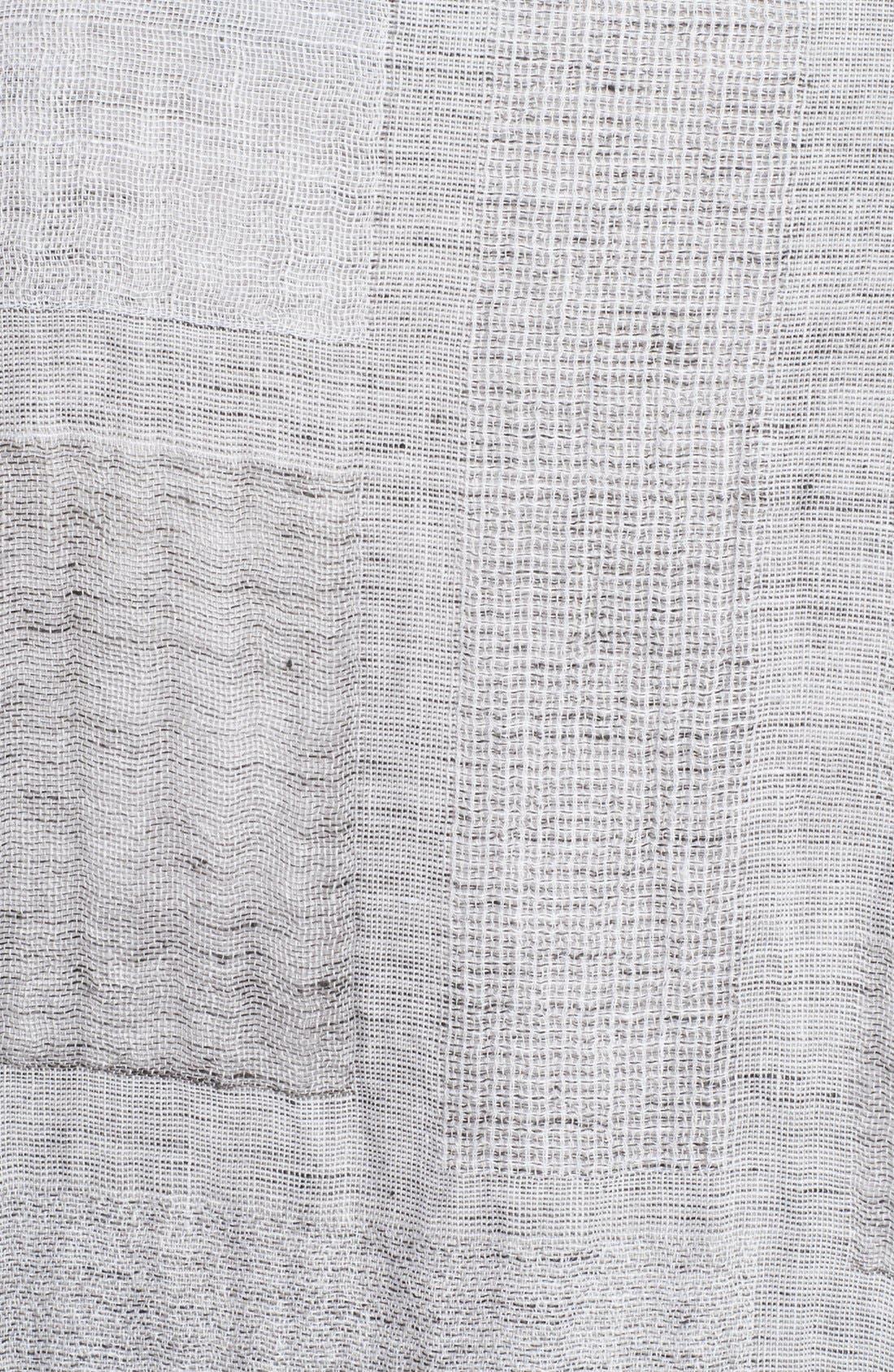 Alternate Image 3  - eskandar Patchwork Linen Gauze Shirt