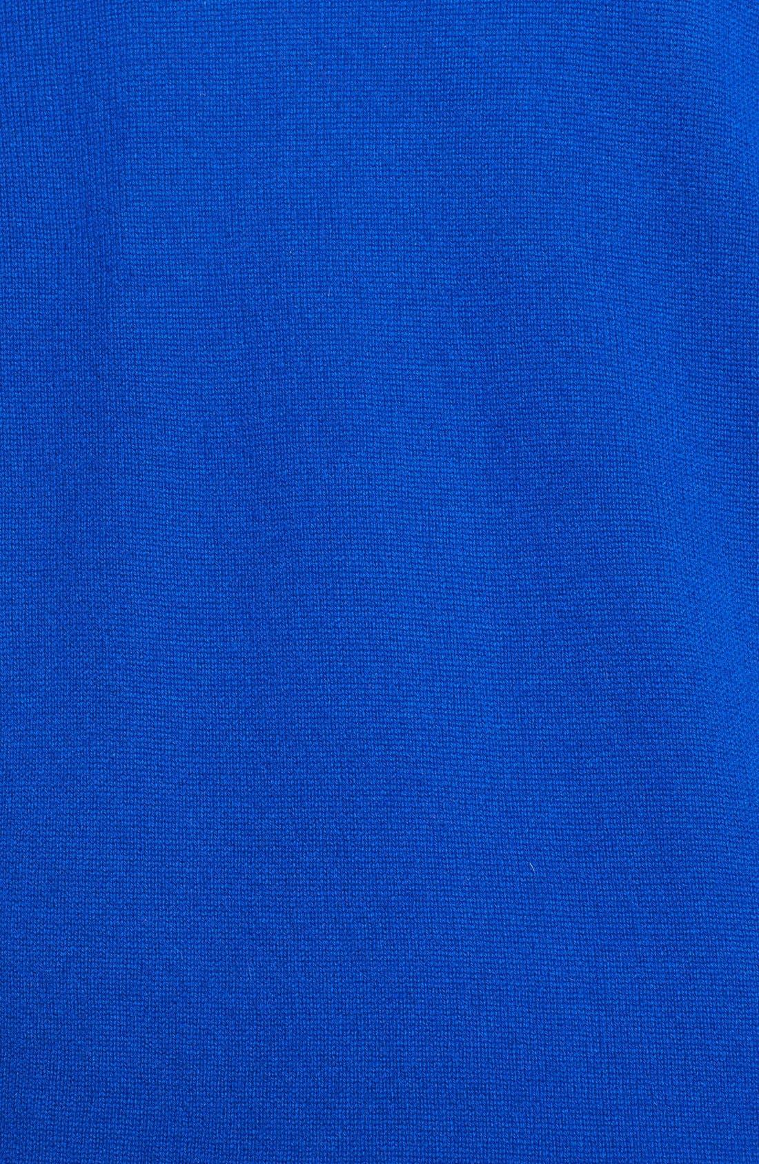 Alternate Image 3  - Caslon® Shawl Collar Wool & Cashmere Cardigan (Plus Size)