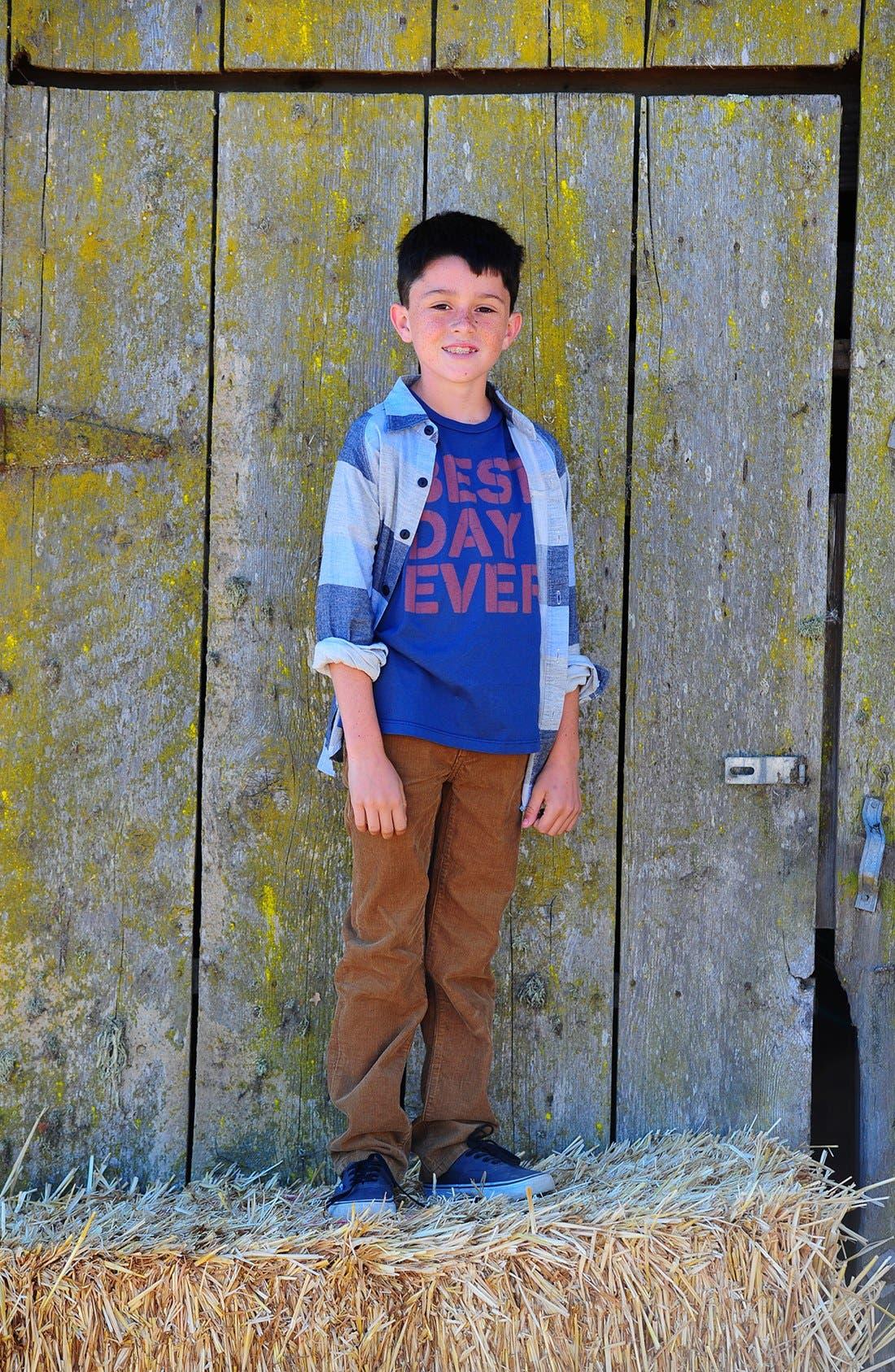 Alternate Image 3  - Peek 'Ellis' Slim Corduroy Pants (Toddler Boys, Little Boys & Big Boys)