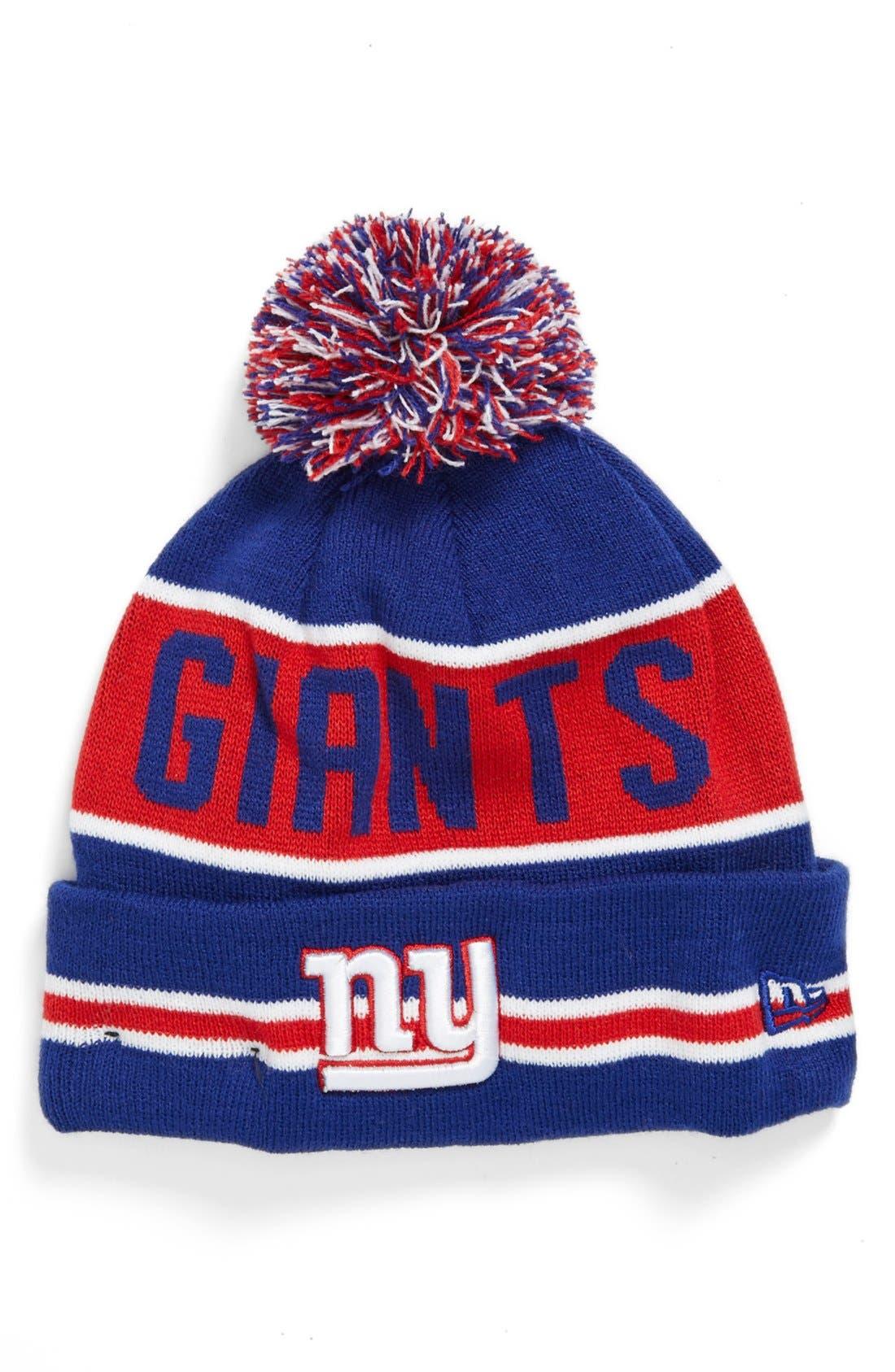 Alternate Image 1 Selected - New Era Cap 'The Coach - New York Giants' Knit Cap