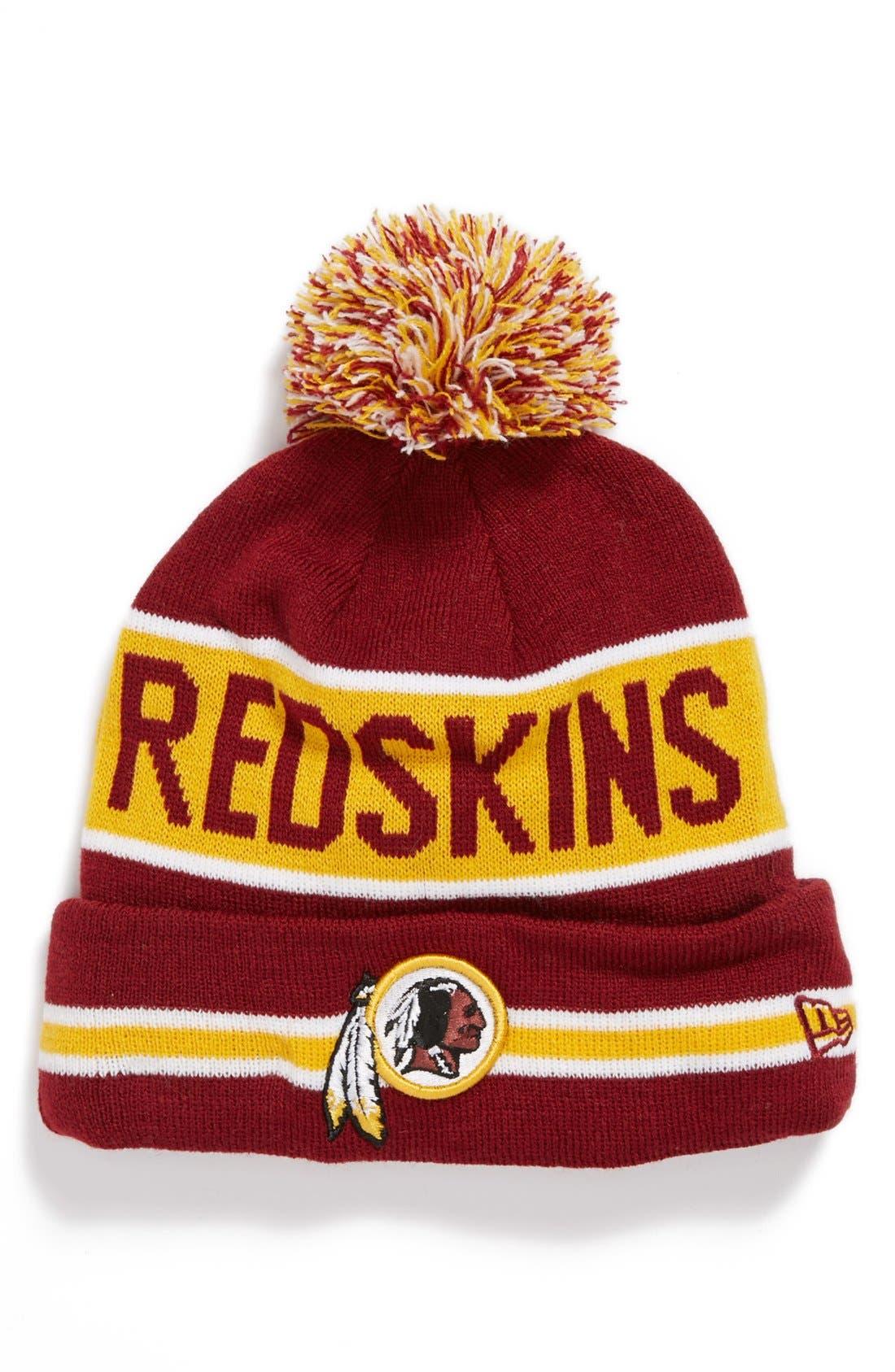 Main Image - New Era Cap 'The Coach - Washington Redskins' Knit Cap
