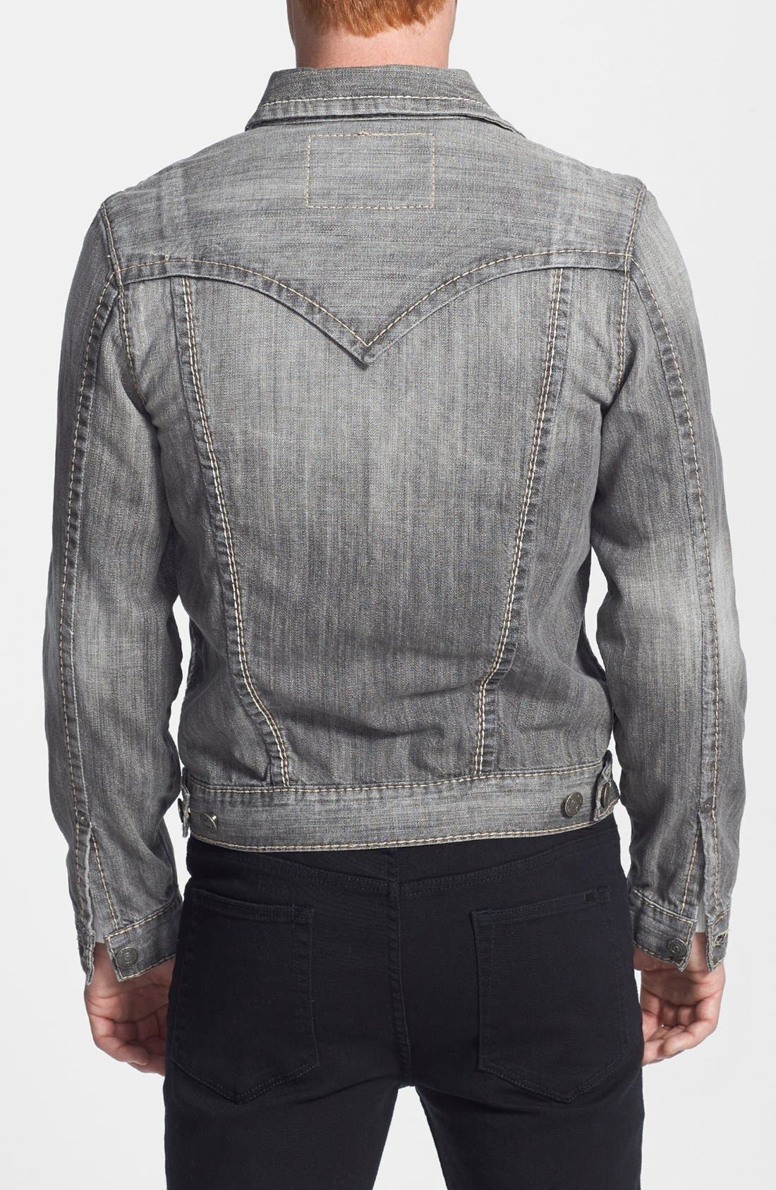 Alternate Image 2  - True Religion Brand Jeans 'Jimmy Big T' Denim Jacket
