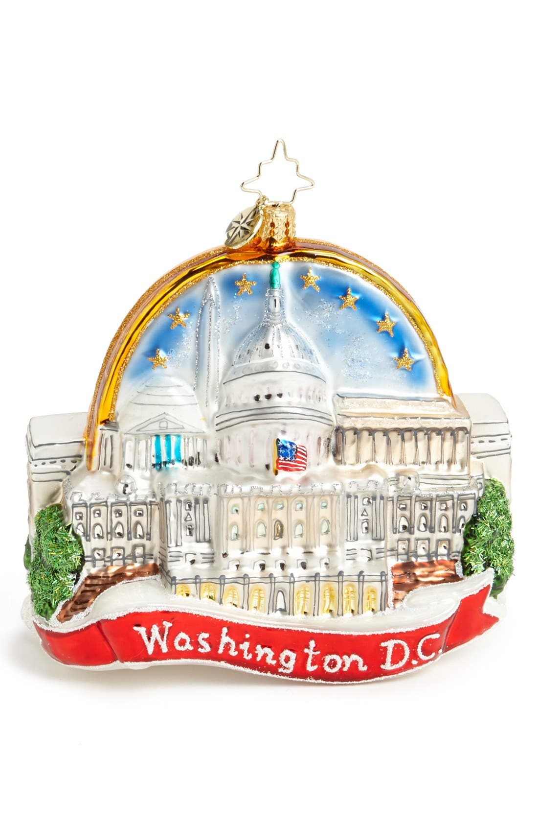 Main Image - Christopher Radko 'On the Hill' Ornament