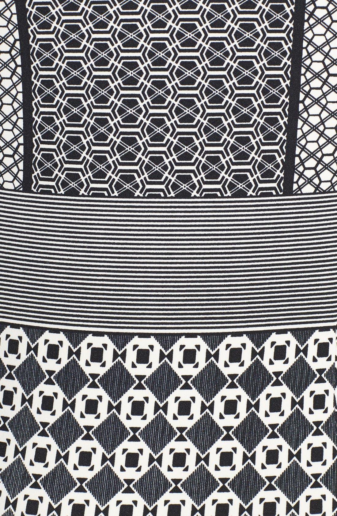 Alternate Image 4  - Maggy London Scuba Sheath Dress