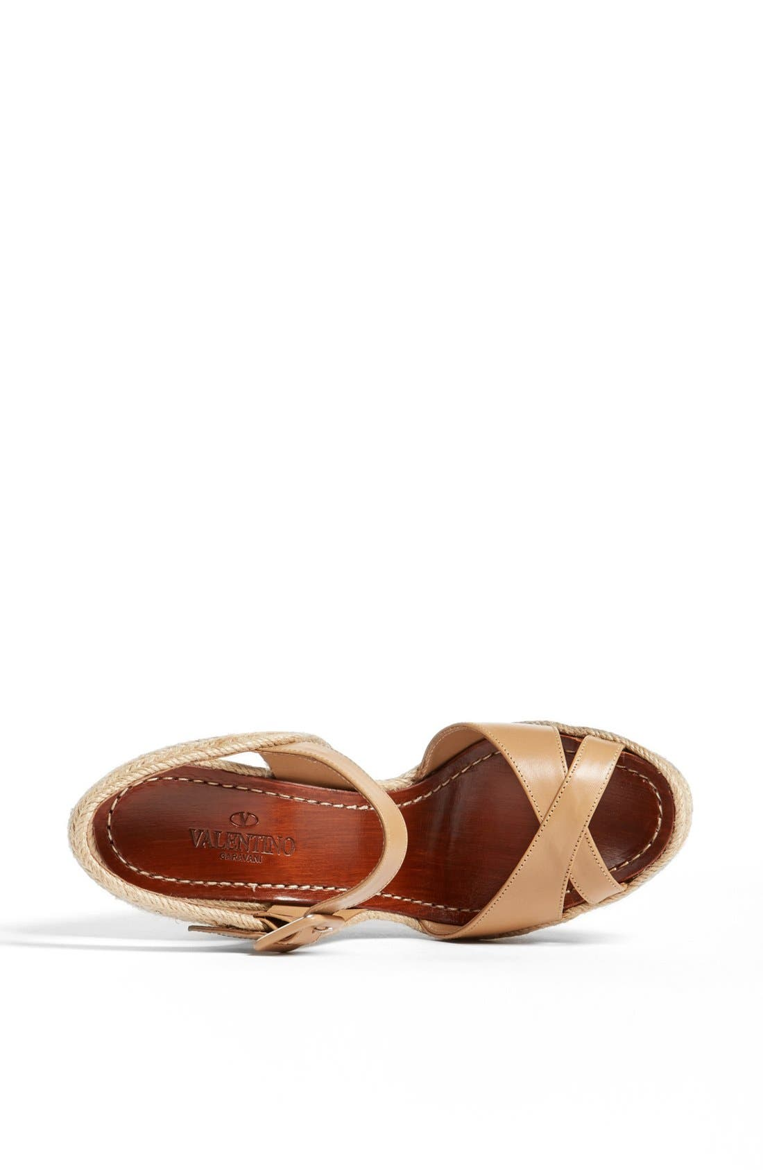 Alternate Image 3  - Valentino 'St. Tropez' Espadrille Wedge Sandal