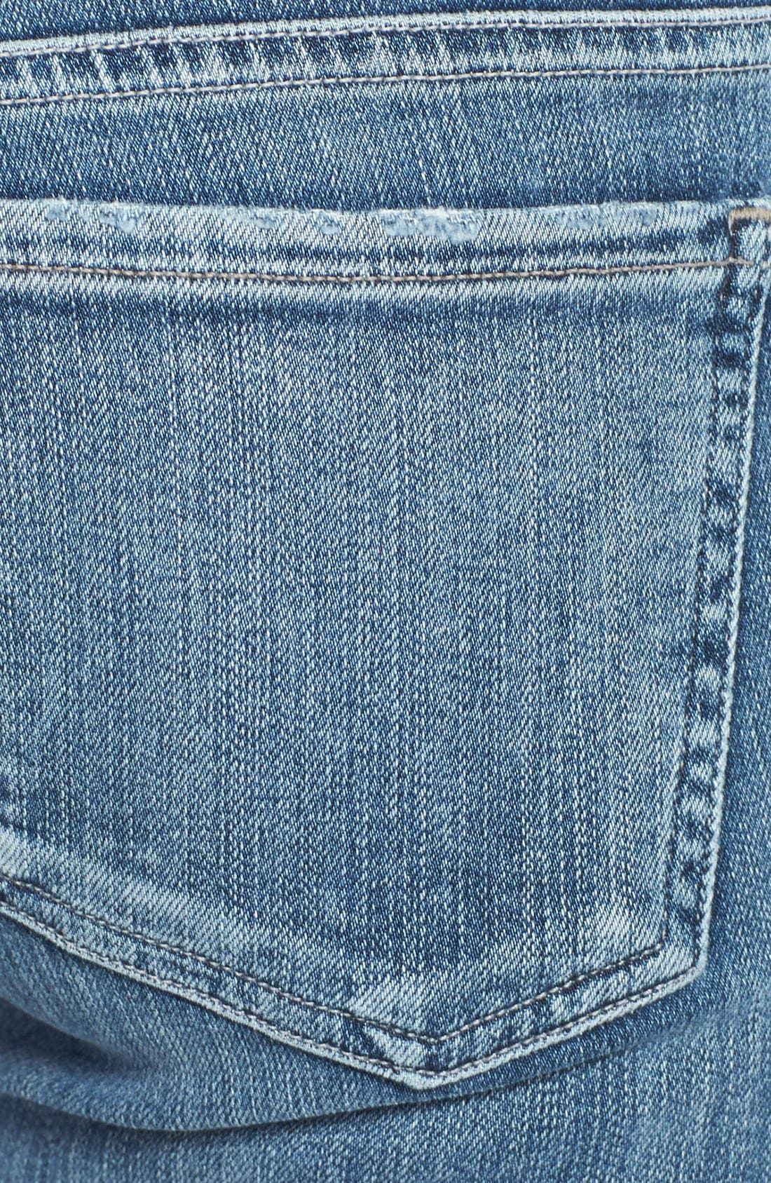Alternate Image 3  - Citizens of Humanity 'Racer' Low Rise Skinny Jeans (Gaze)