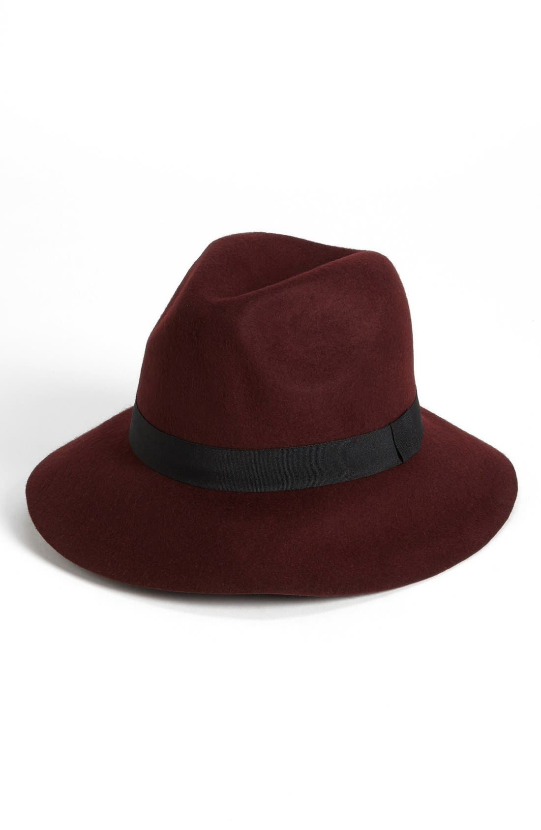 Alternate Image 1 Selected - David & Young Felt Fedora (Online Only)