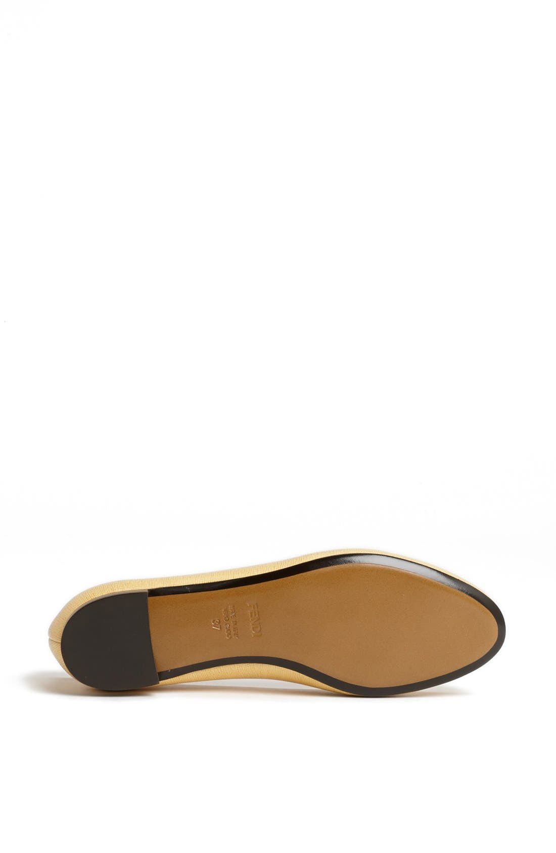 Alternate Image 4  - Fendi 'Monster' Saffiano Flat