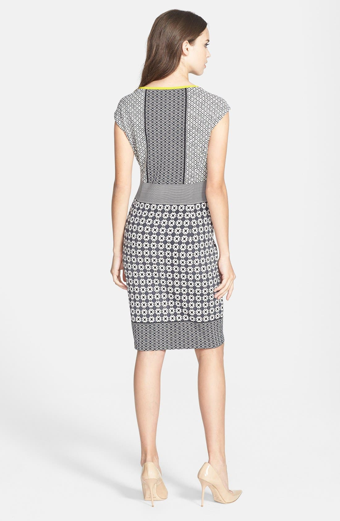 Alternate Image 3  - Maggy London Scuba Sheath Dress