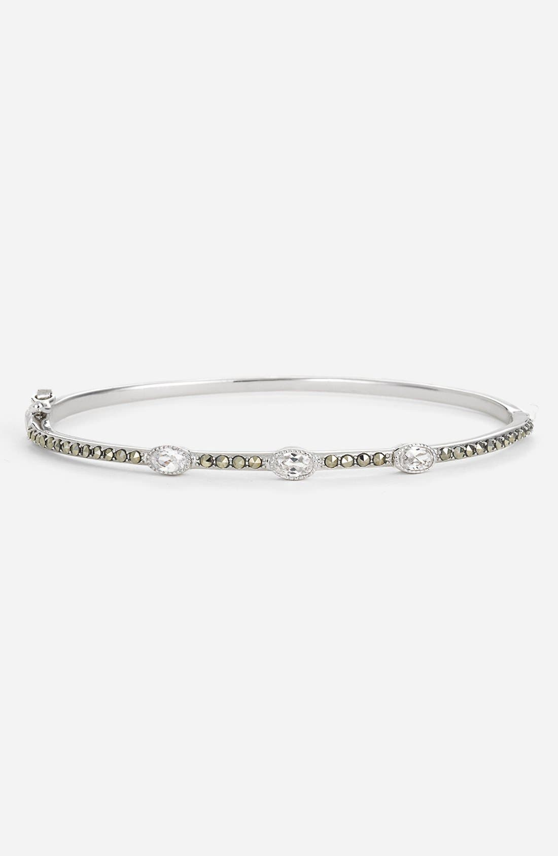 Alternate Image 1 Selected - Judith Jack 3-Stone Oval Stackable Bangle