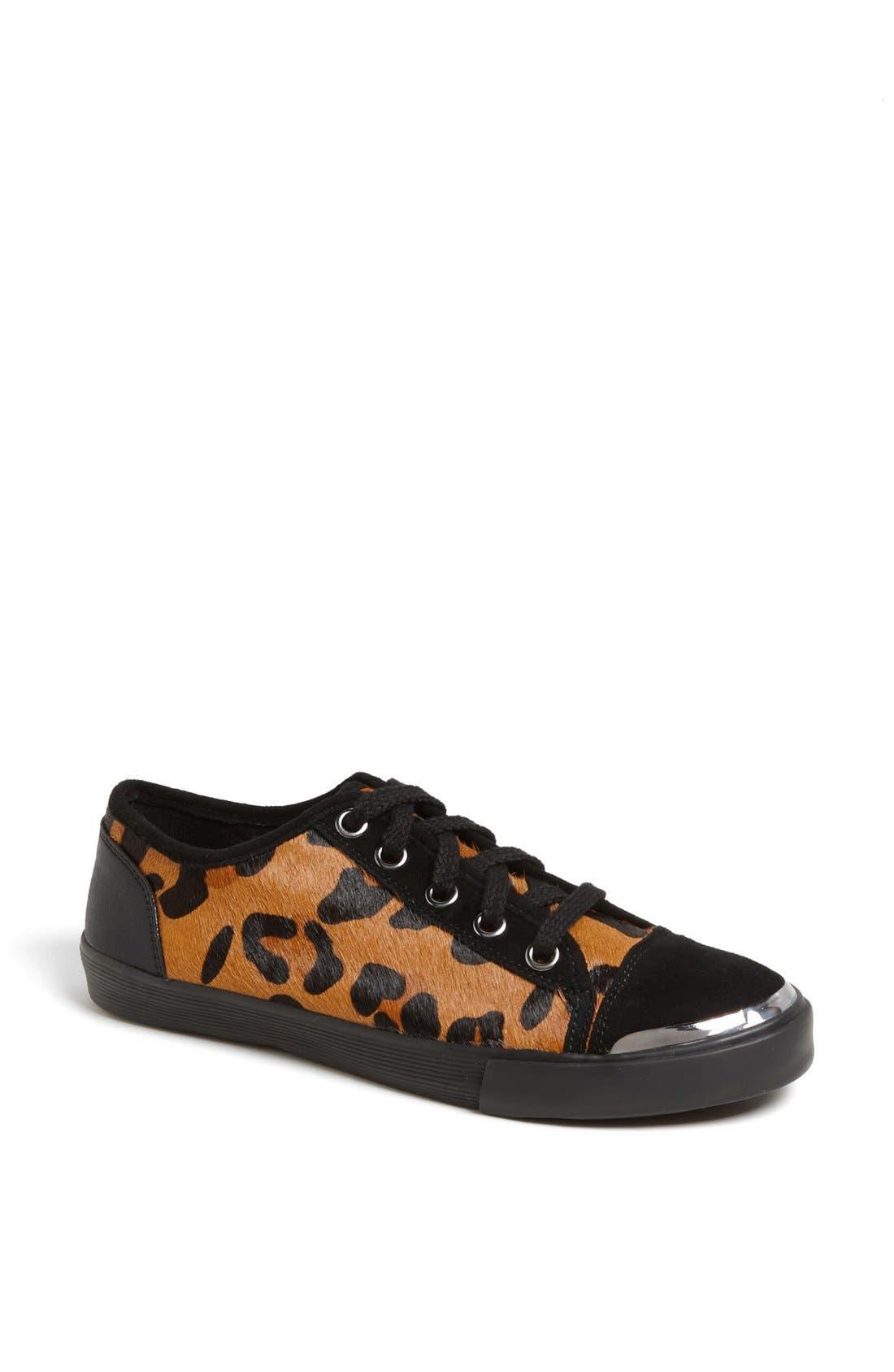 Main Image - Nine West 'Deanne' Leopard Print Sneaker