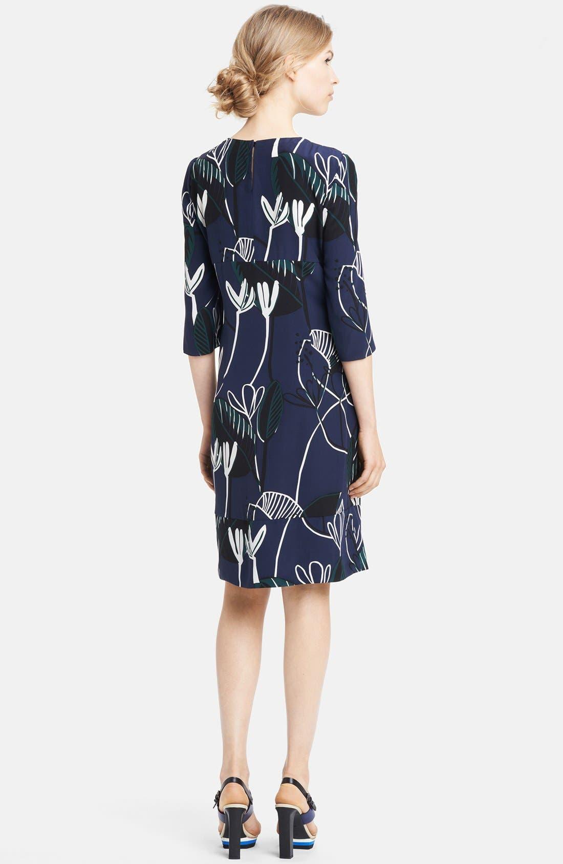 Alternate Image 2  - Marni Print Silk Dress