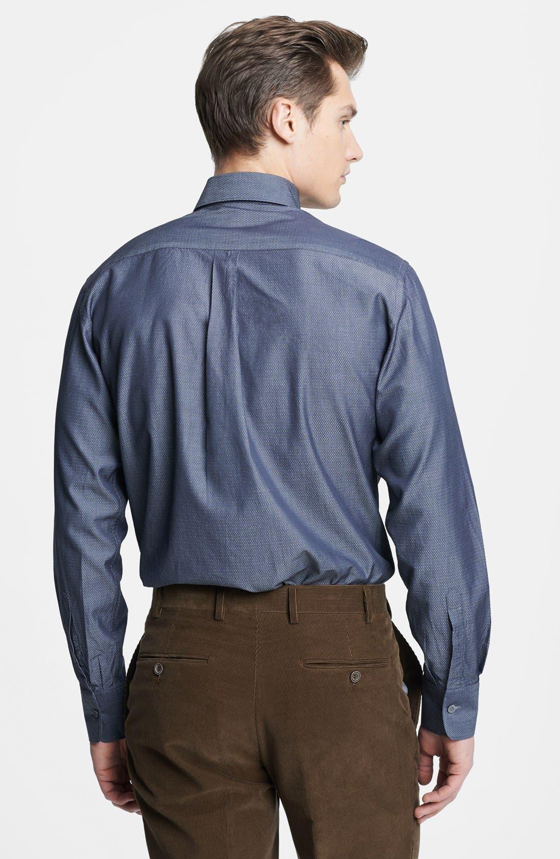 Alternate Image 2  - Canali Regular Fit Italian Sport Shirt