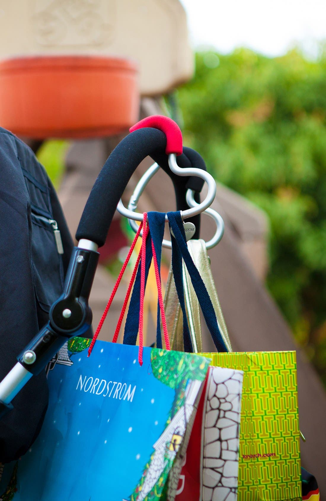 Alternate Image 6  - Buggygear 'Buggy Heart Hook' Stroller Bag Hanger