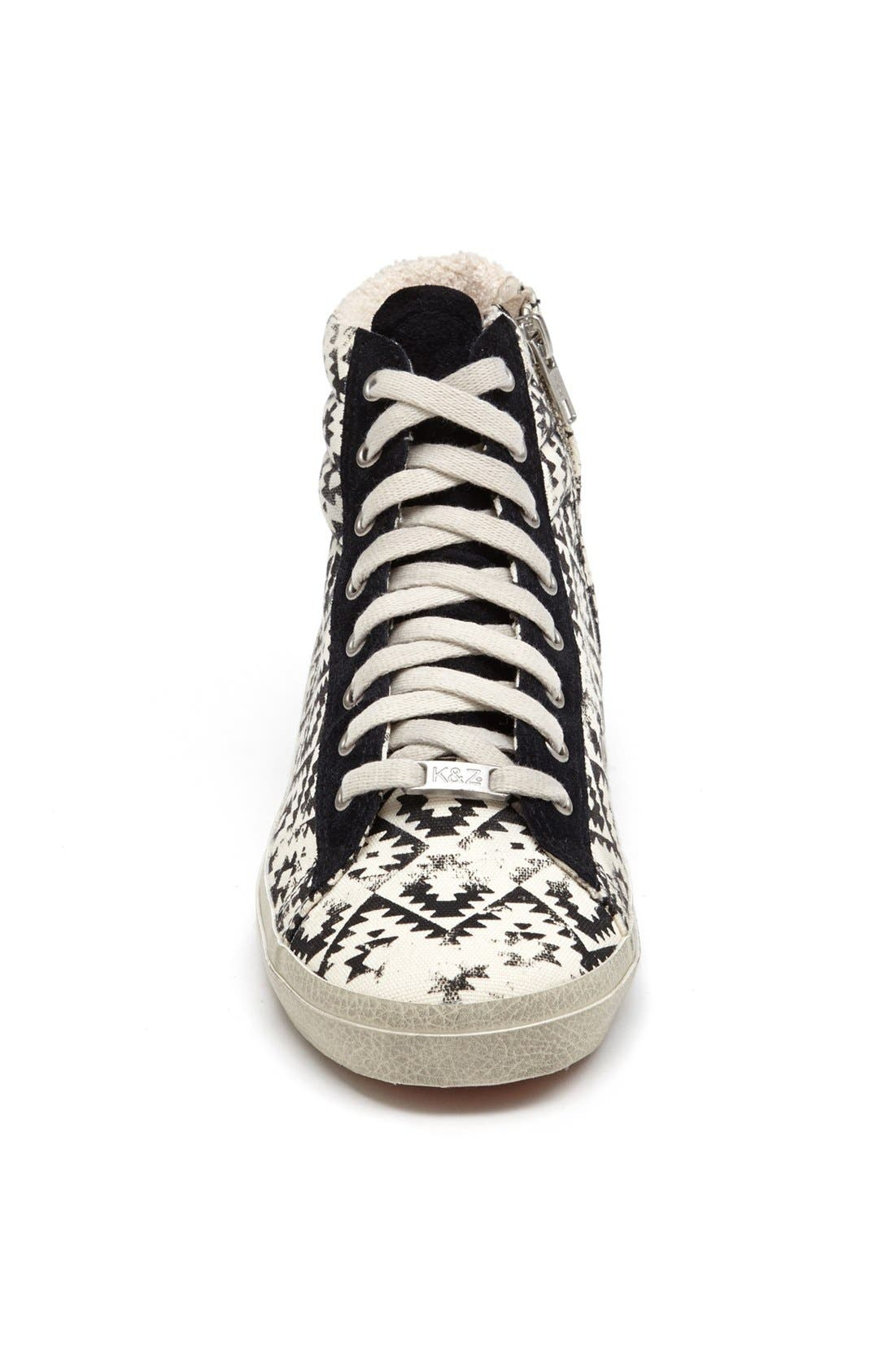 Alternate Image 3  - Kim & Zozi 'Gypster' High Top Sneaker