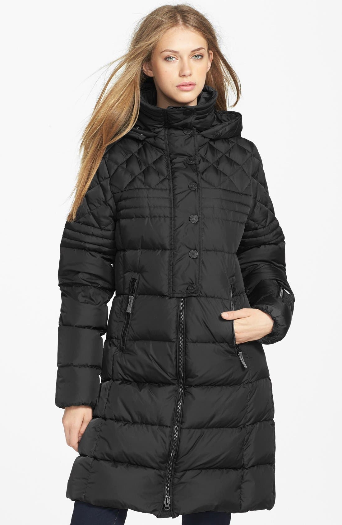 Alternate Image 1 Selected - Bogner 'Haily-D' Down Coat with Detachable Hood