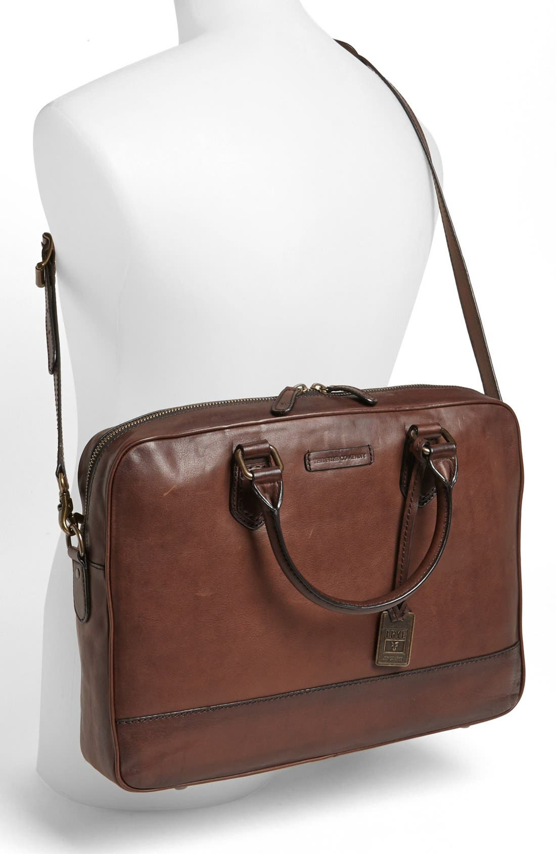 Alternate Image 4  - Frye 'James' Leather Briefcase