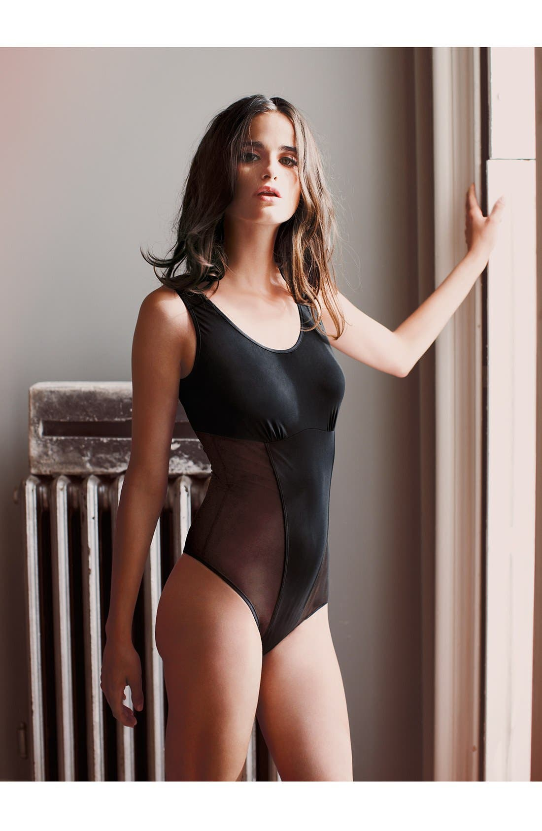 Alternate Image 4  - Yummie by Heather Thomson 'Zoe' Shaper Thong Bodysuit