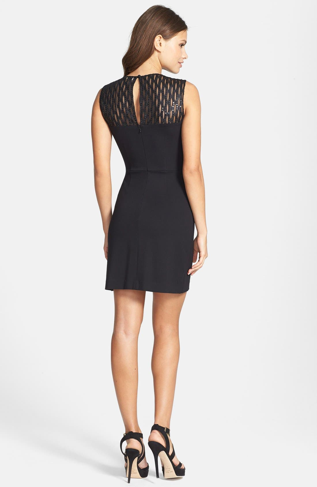Alternate Image 2  - ERIN erin fetherston 'Gianna' Stretch Jersey Sheath Dress