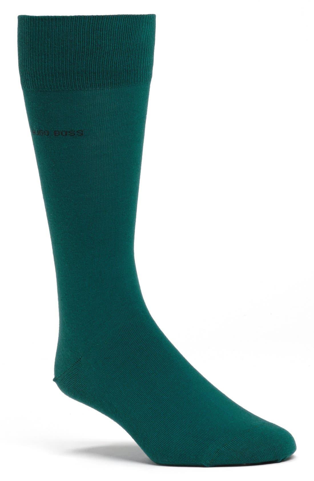 Alternate Image 1 Selected - BOSS HUGO BOSS 'Marc' Stretch Cotton Socks