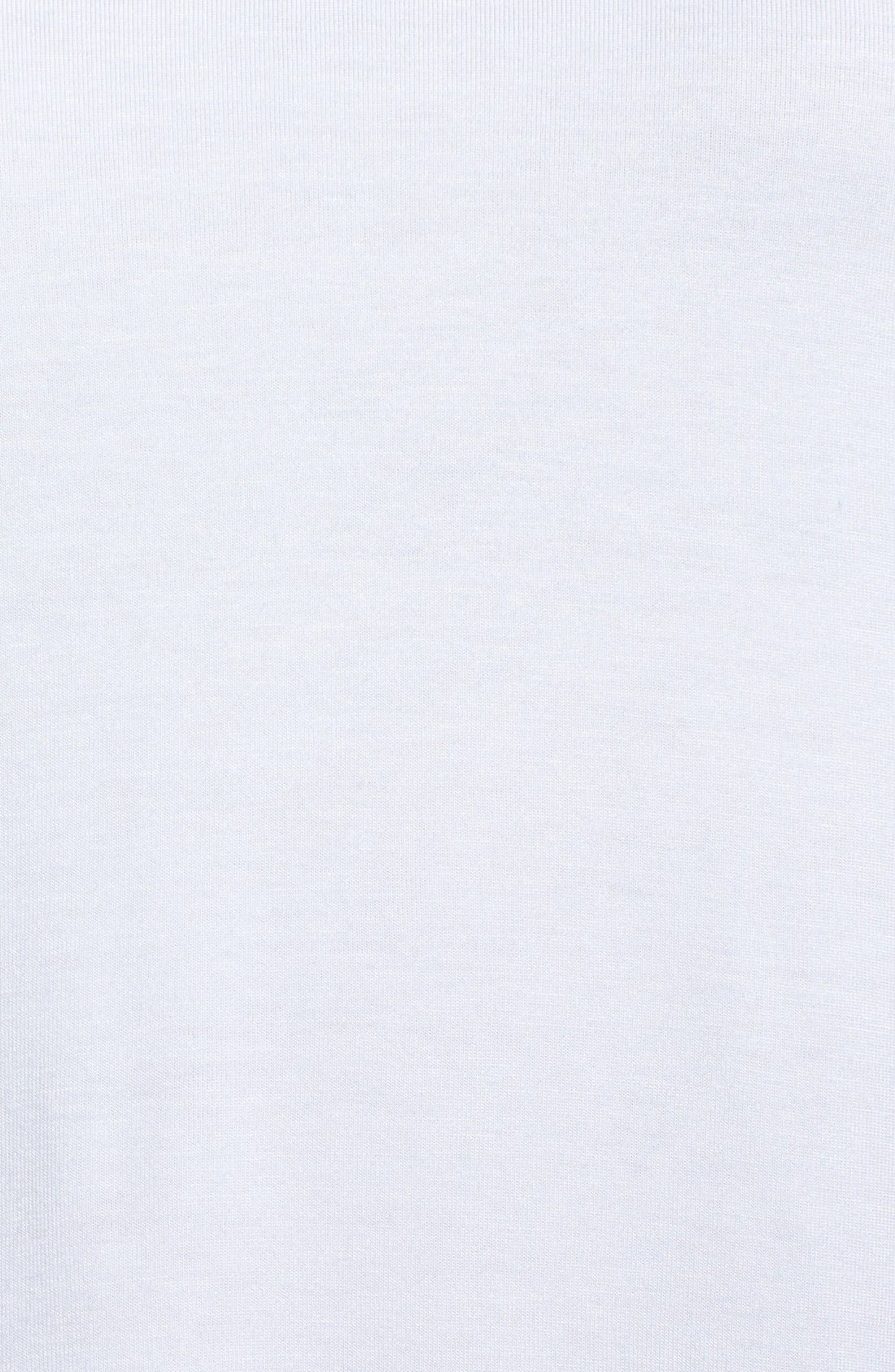 Alternate Image 3  - Kenneth Cole New York 'Jo' Shirttail Inset V-Neck Sweater