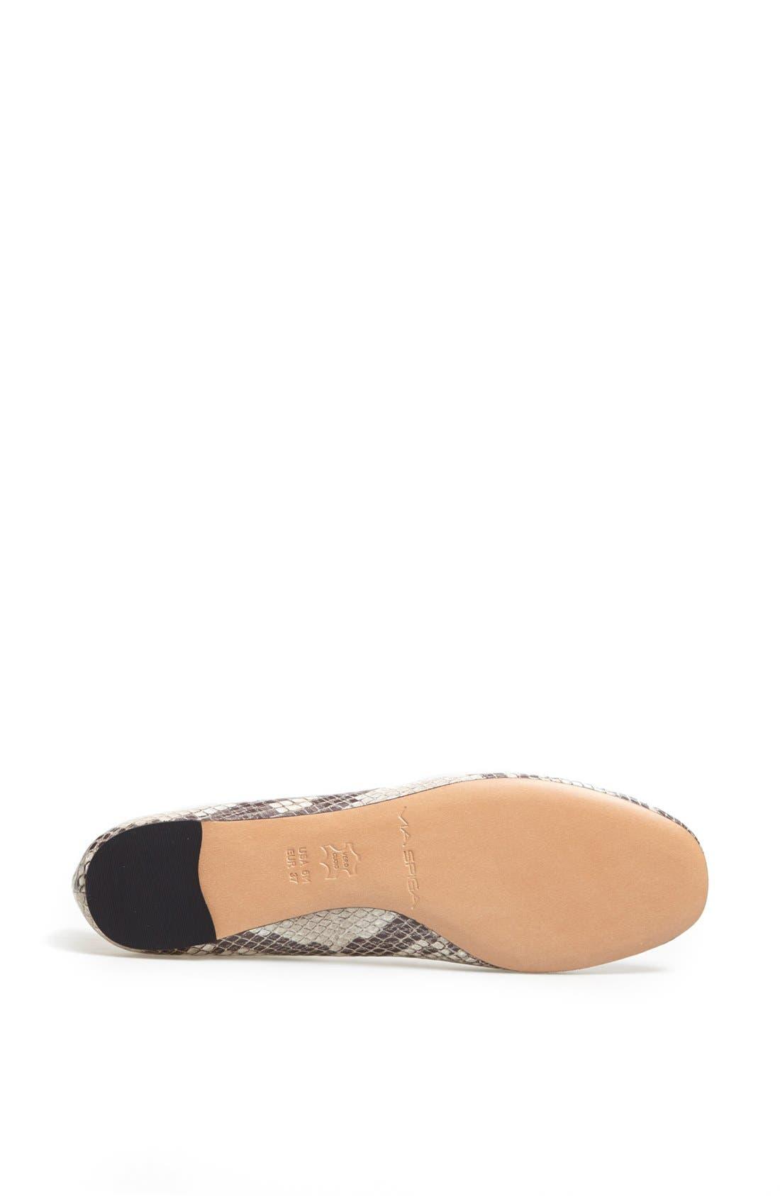 Alternate Image 4  - Via Spiga 'Lilac' Ballerina Flat